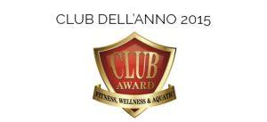 club award club dell'anno 2015 Ego Lucca