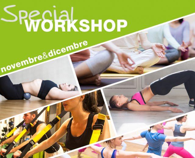 I workshop speciali di novembre e dicembre