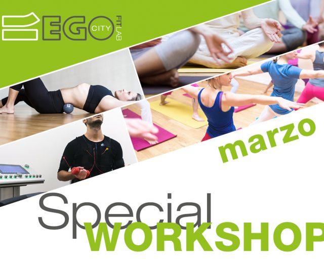 Il calendario degli eventi workshop del mese di marzo al City Lab